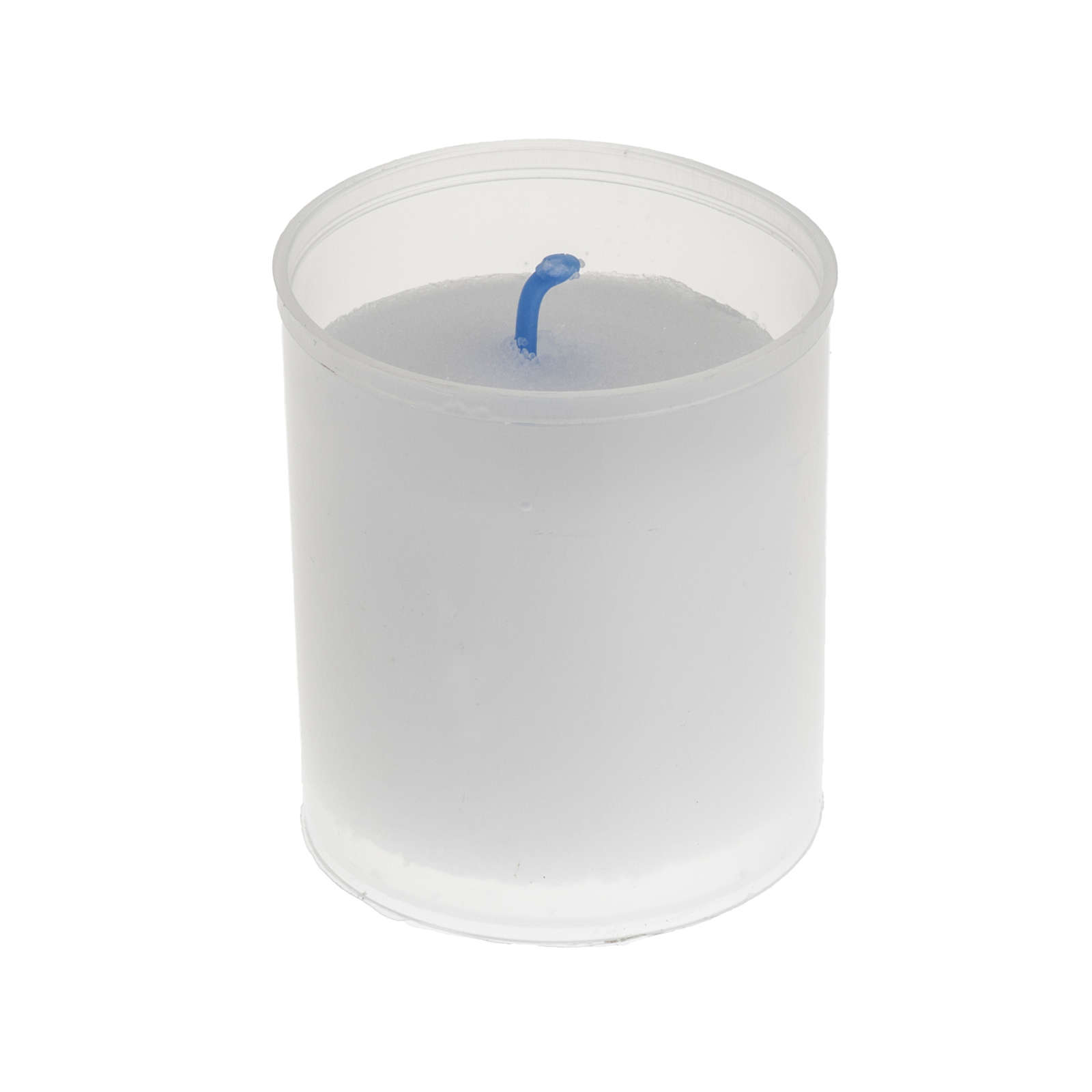 Tea light candle - white Star model 3