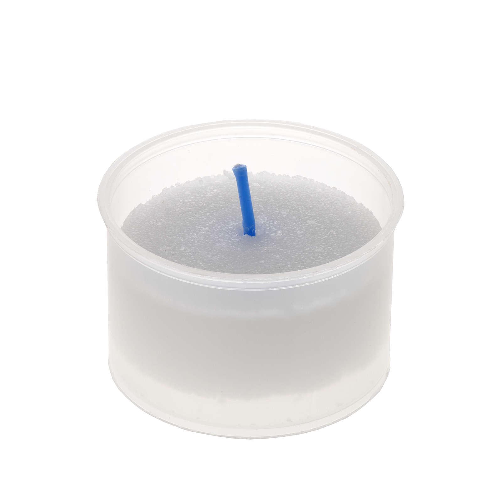 Tea light candle - white little Star model 3