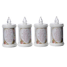 LED votive candle, white, lasting 90 days s3