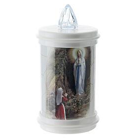 LED votive candle, white, lasting 90 days s1