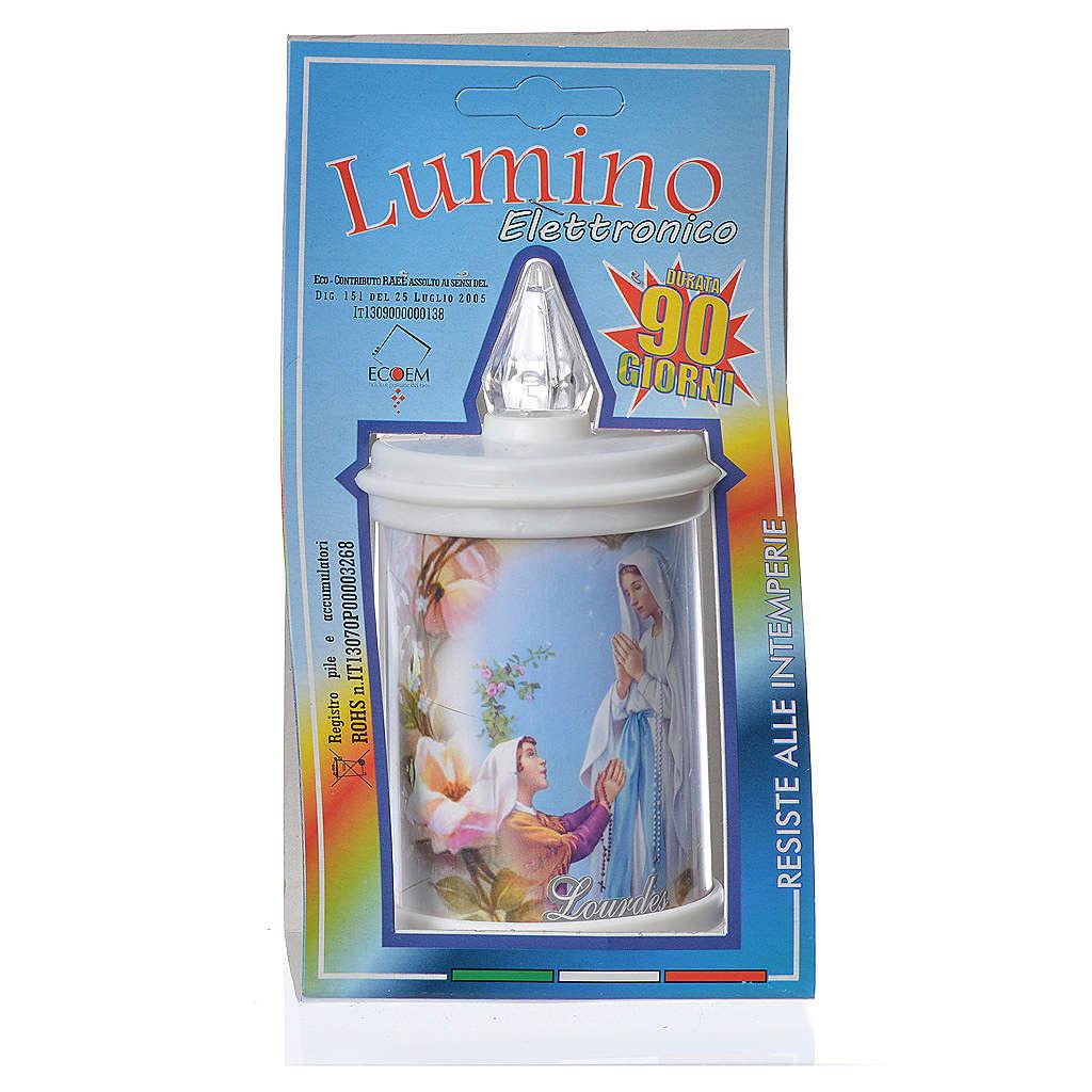 Bougie veilleuse blanche LED durée 90 jours 3