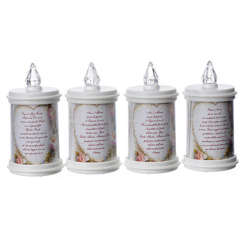 LED votive candle, white, lasting 90 days 3