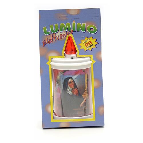 Lumino elettrico plastica durata 90 gg bianco 7