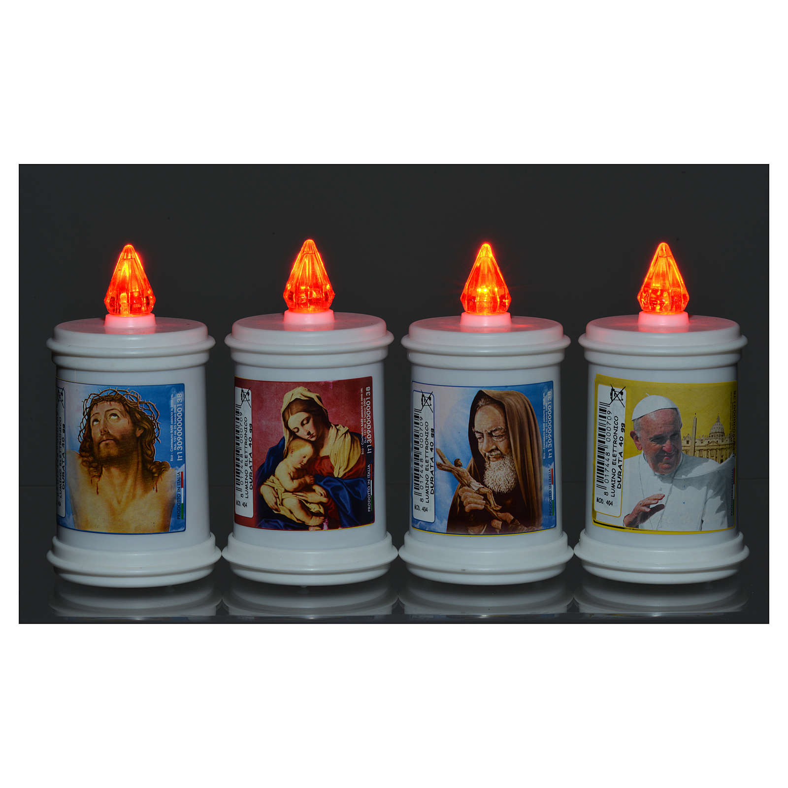 Electric votive candle in plastic, lasting 40 days 3