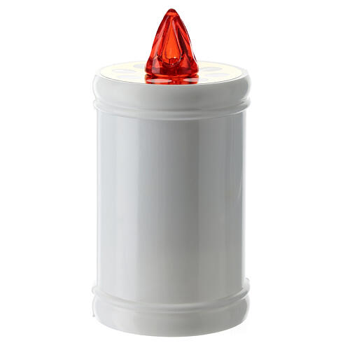 Plastic, electric votive candle, white, lasting 40 days 5
