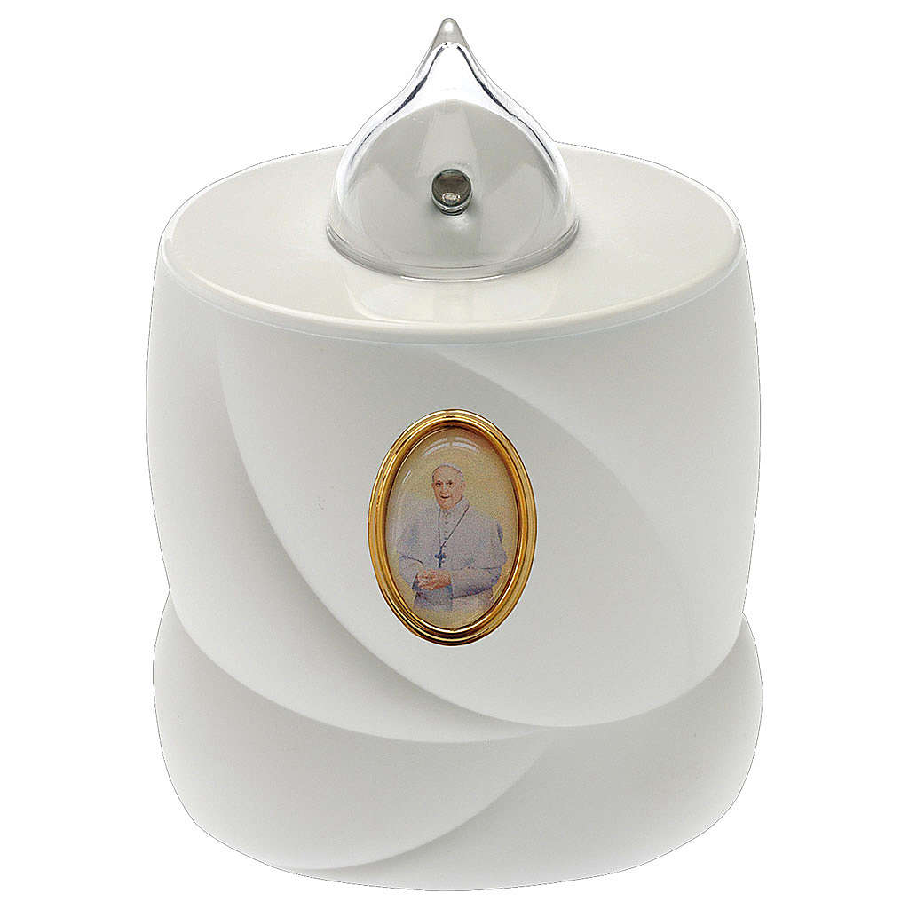 Lumada battery candle, static, Pope Francis 3