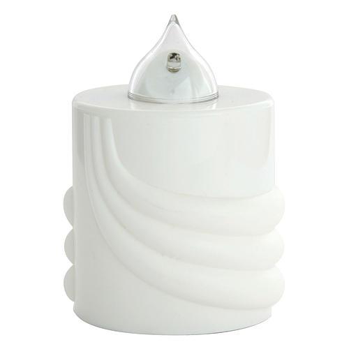 Lumino votivo Lumada bianco luce intermittente 1