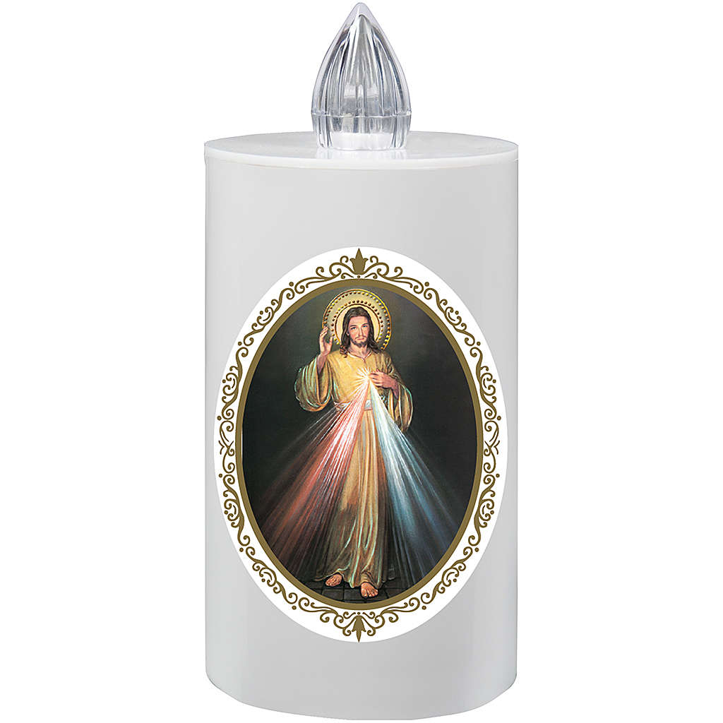 Battery votive candle, Lumada Jesus 3