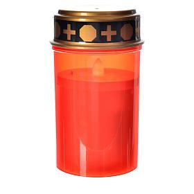 Veilleuses votives diverses: Veilleuse led rouge lumière rouge tremblante