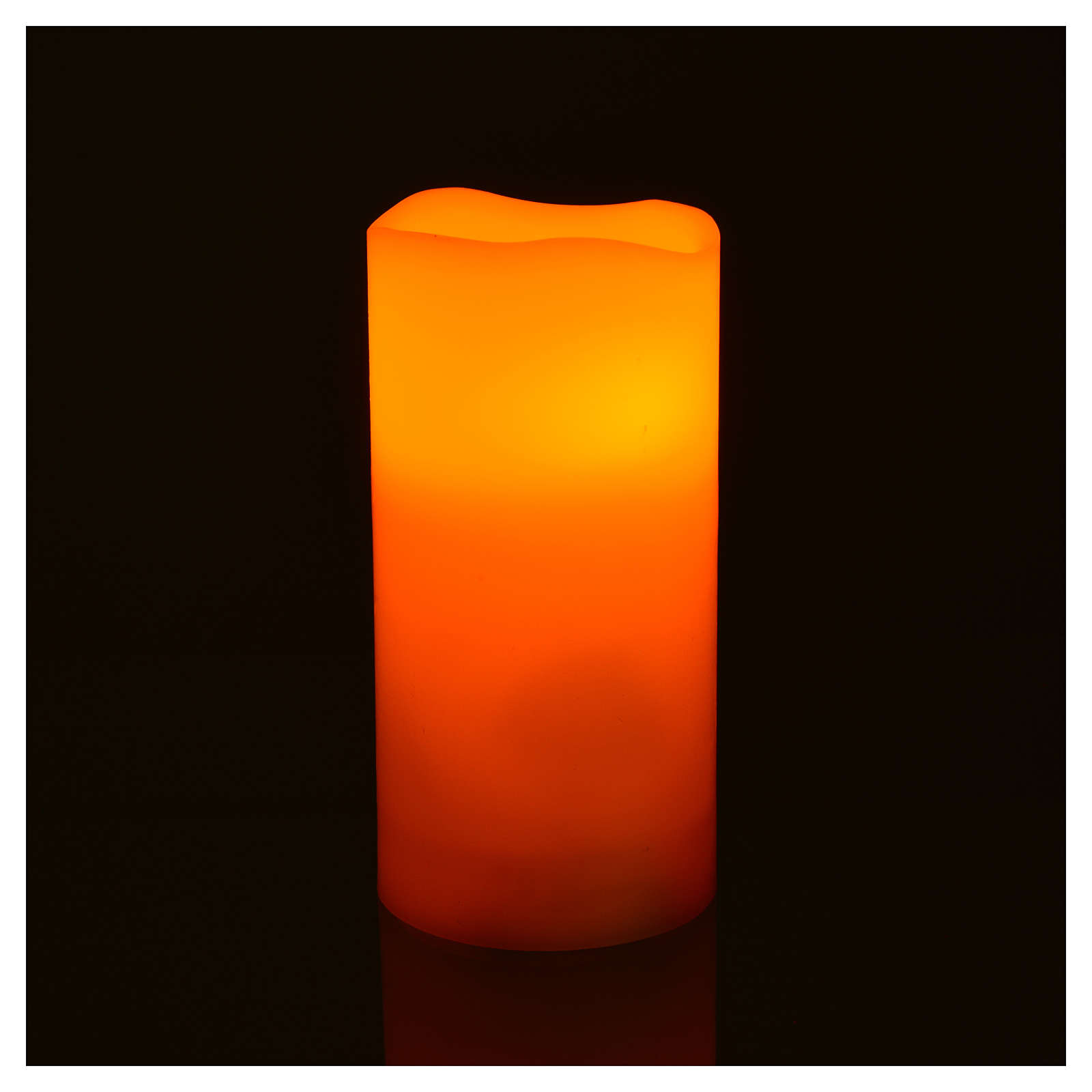 Luces LED de verdadera cera 3 piezas con pilas 3