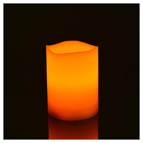 Luces LED de verdadera cera 3 piezas con pilas 2