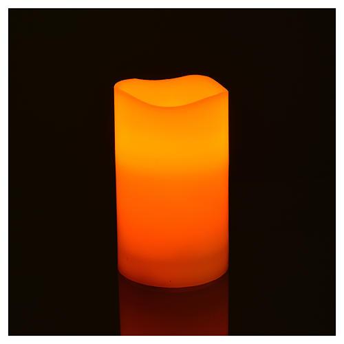 Luces LED de verdadera cera 3 piezas con pilas 4