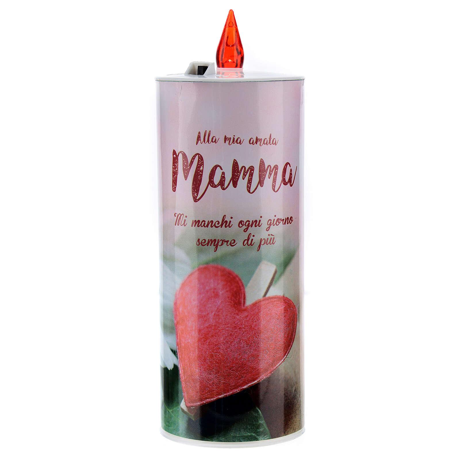 Świeca wotywna led 'Mamma' (Mama) 3