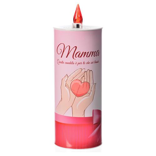 Świeca wotywna led 'Mamma' (Mama) 1
