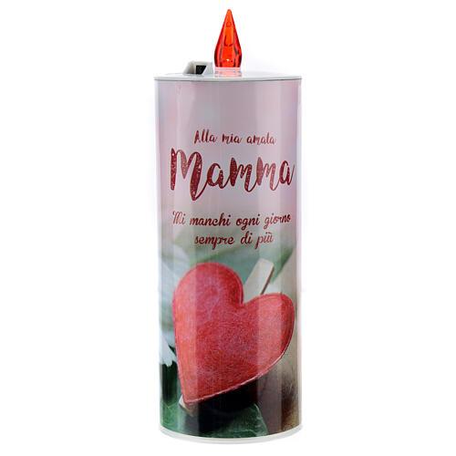 Świeca wotywna led 'Mamma' (Mama) 2