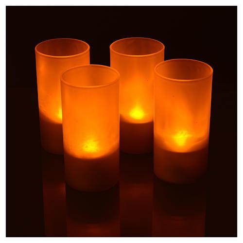 Lumini tealights Led ricaricabili 4 PZ 4