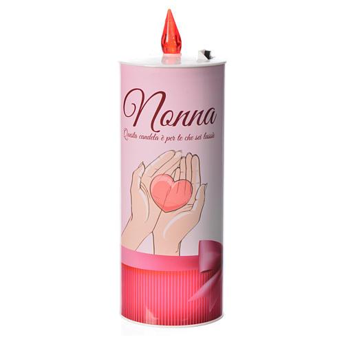 Świeca wotywna led 'Nonna' (Babcia) 1