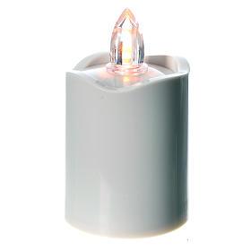Lumino Led bianco luce gialla fissa s1
