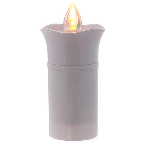 Lumino Lumada immagine Lourdes bianco fiamma gialla tremula 3
