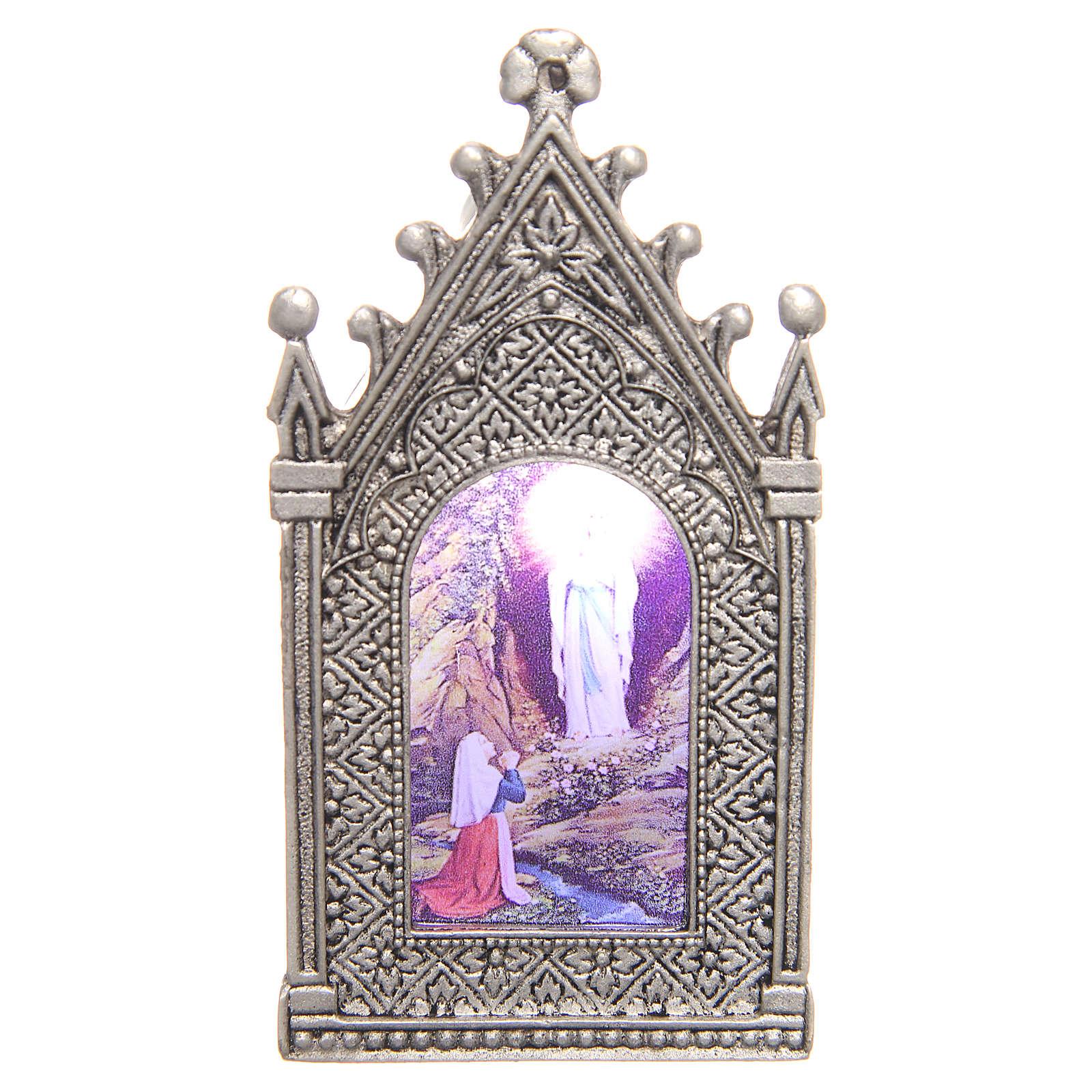 Lumino votivo elettrico Madonna di Lourdes 3