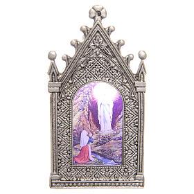 Lumino votivo elettrico Madonna di Lourdes s1
