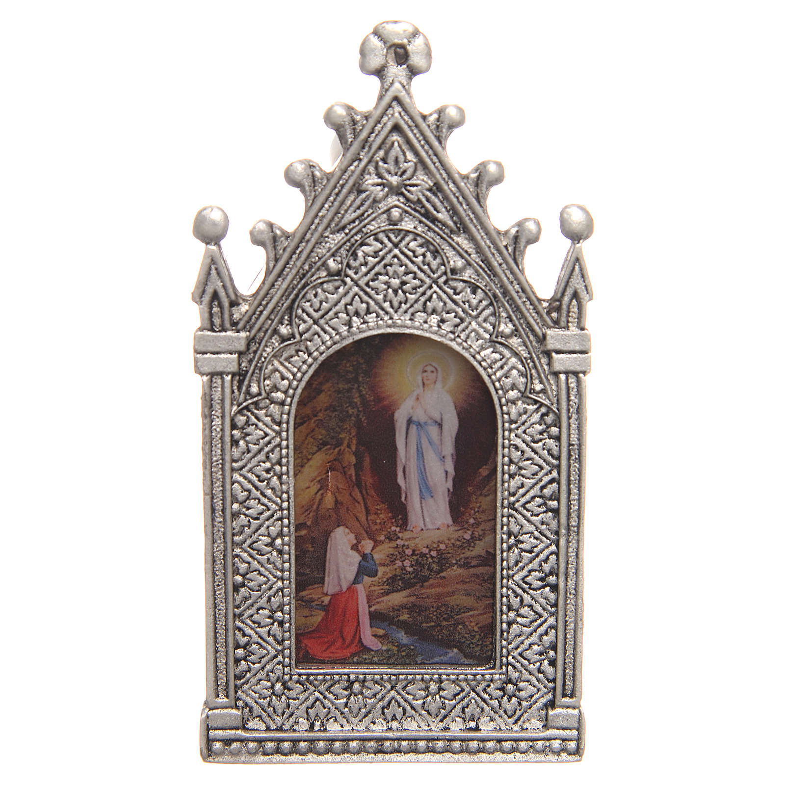 Votive electric candle Our Lady of Lourdes 3