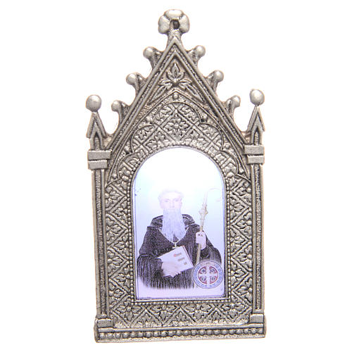 Votive electric candle Saint Benedict 1