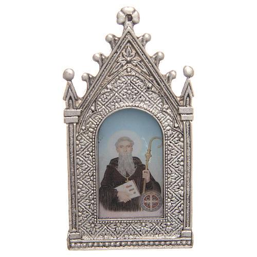 Votive electric candle Saint Benedict 2