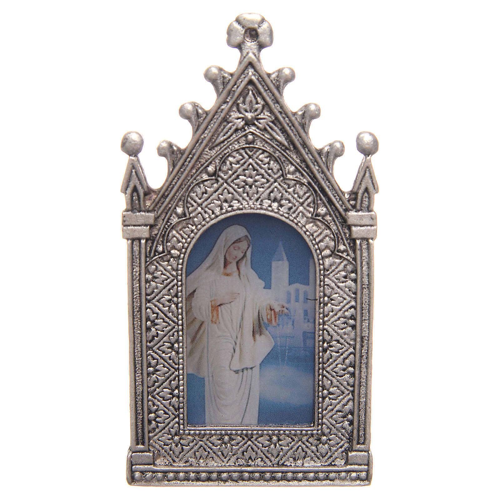 Lámpara votiva eléctrica Virgen de Medjugorje 3