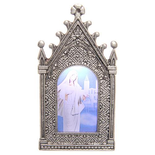 Lámpara votiva eléctrica Virgen de Medjugorje 1