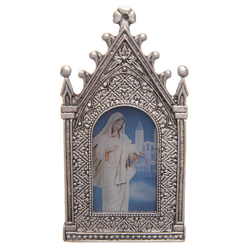 Votive electric candle Our Lady of  Medjugorje 2