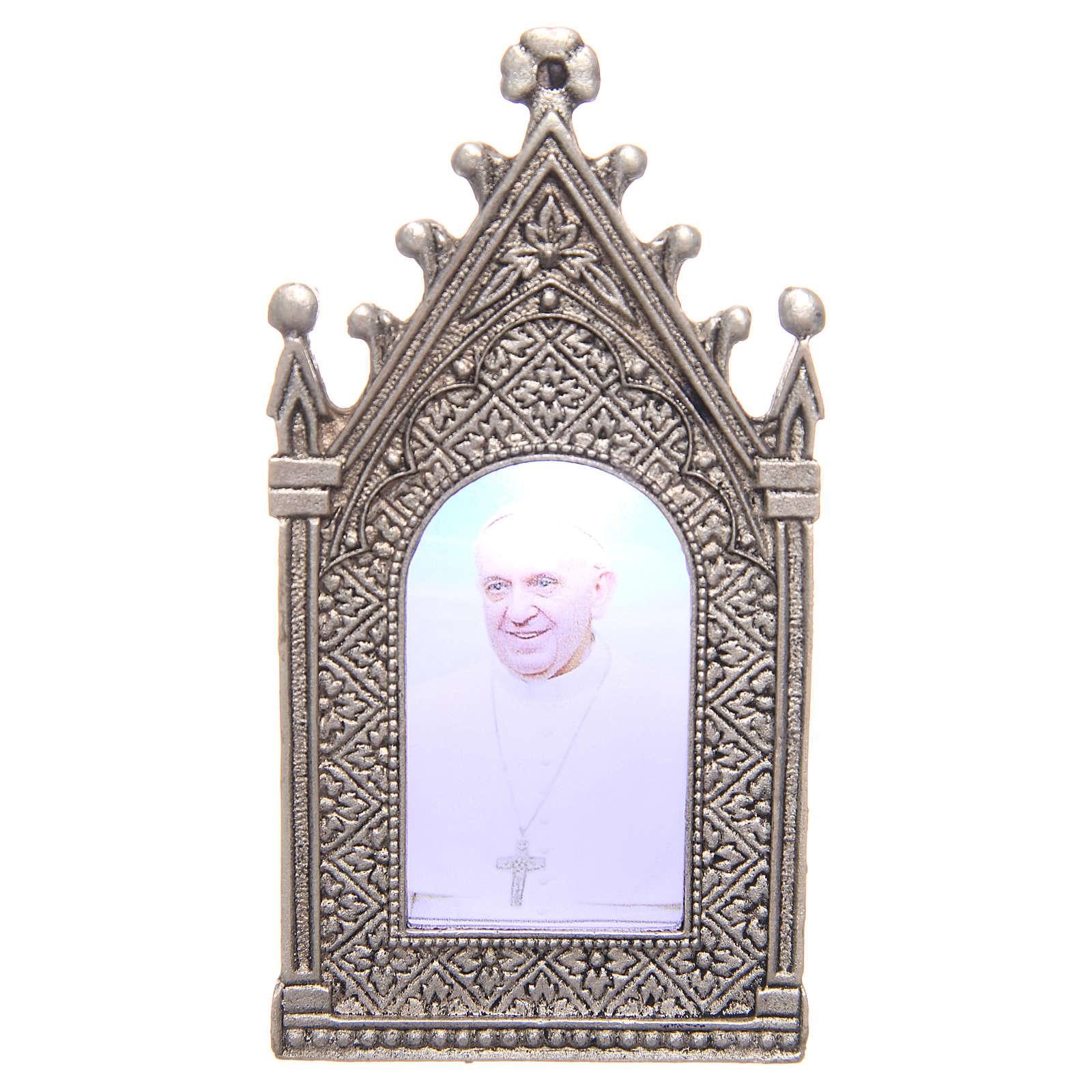 Lumino votivo elettrico Papa Francesco 3
