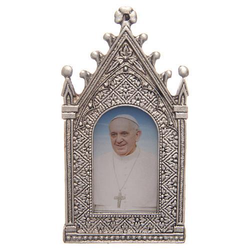Lumino votivo elettrico Papa Francesco 2