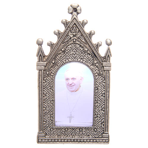 Votive electric candle Pope Francis 1