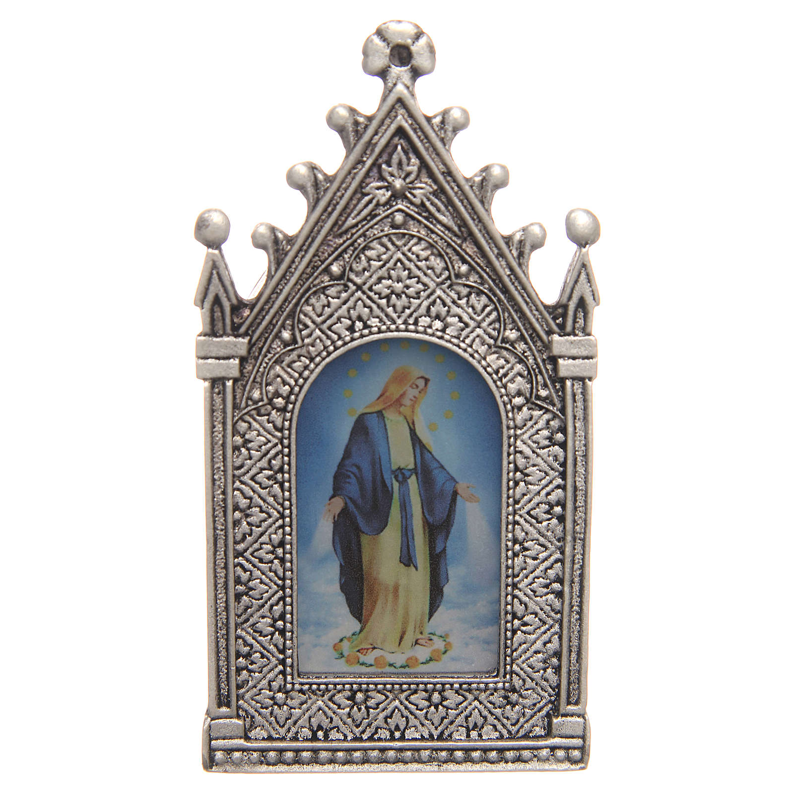 Vela votiva eléctrica Virgen Milagrosa 3