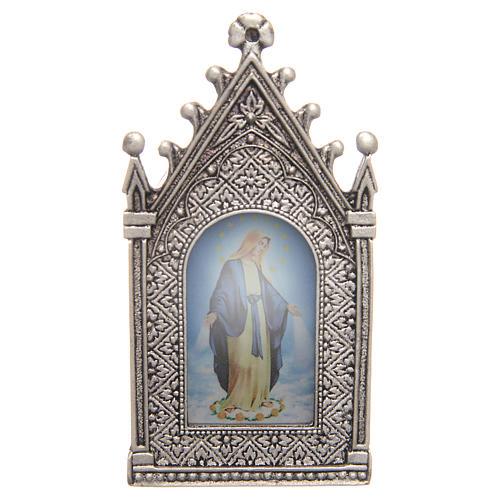 Vela votiva eléctrica Virgen Milagrosa 1