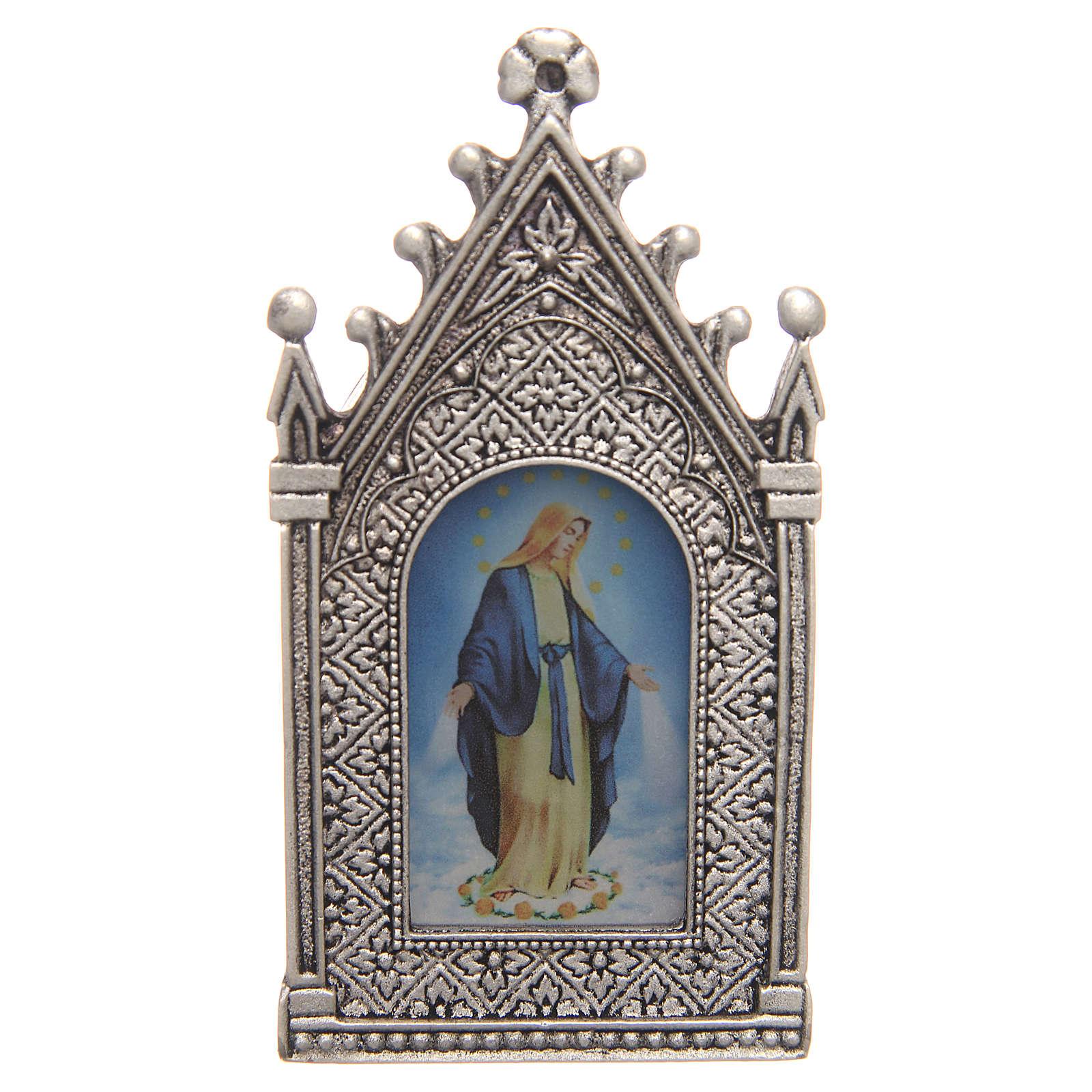 Lumino votivo elettrico Madonna Miracolosa 3