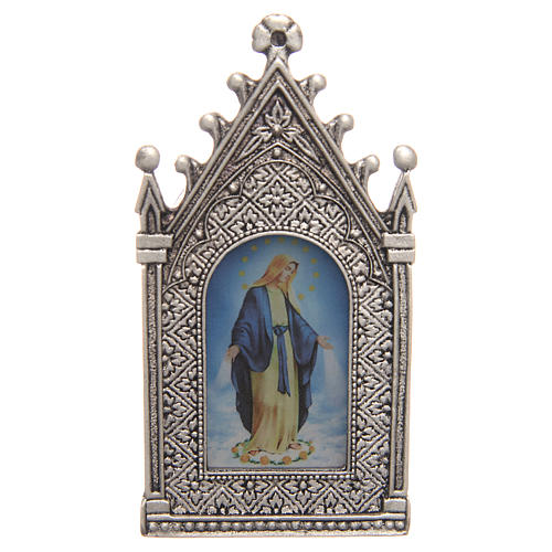 Lumino votivo elettrico Madonna Miracolosa 2
