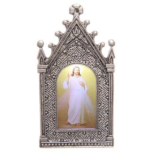 Lumino votivo elettrico Cristo Misericordioso 1
