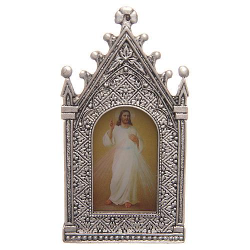 Lumino votivo elettrico Cristo Misericordioso 2