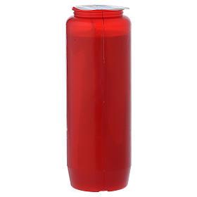Cirio para el Santísimo IHS rojo 6 días s3