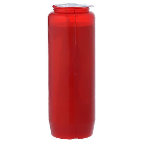 Cirio para el Santísimo IHS rojo 6 días 3