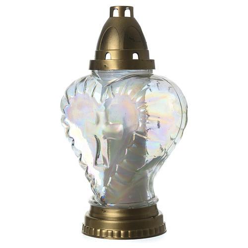 Heart shaped votive candle holder 2