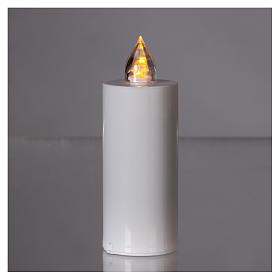 Candela votiva Lumada usa e getta luce gialla fiamma reale s2