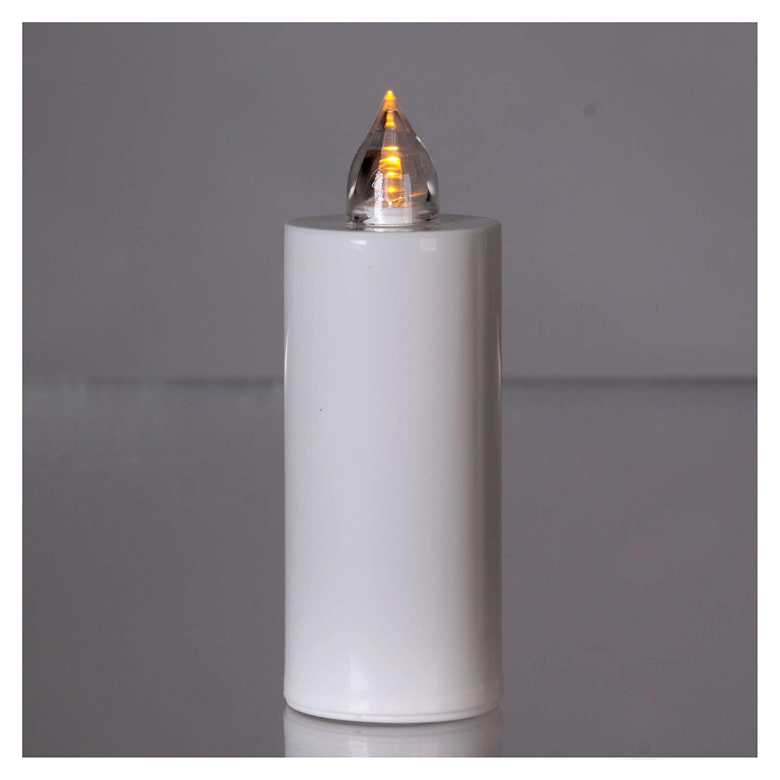 Candela votiva Lumada usa e getta bianca luce gialla fissa 3