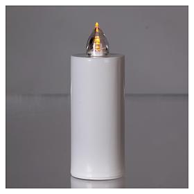 Candela votiva Lumada usa e getta bianca luce gialla fissa s2