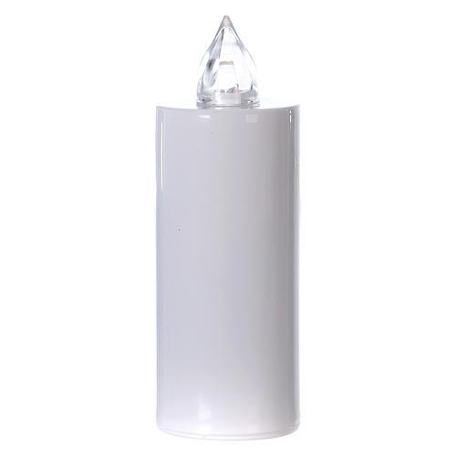 Candela votiva Lumada usa e getta bianca luce gialla fissa 1