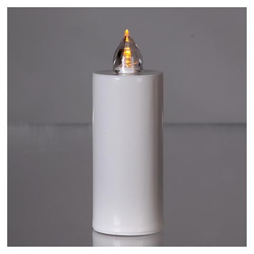 Candela votiva Lumada usa e getta bianca luce gialla fissa 2
