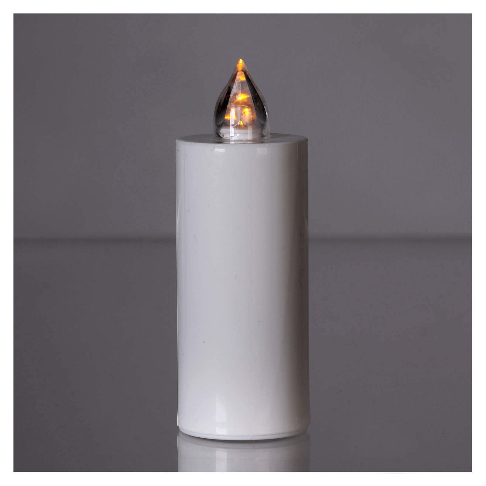 Lumada electric votive candle with yellow intermittent light 3