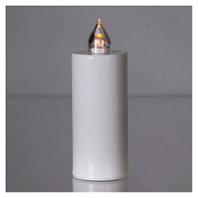 Lamparilla Lumada desechable blanca luz amarilla parpadeante
